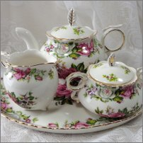 Romantic Tea Set for Two