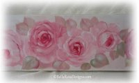 Yard Long Style Romantic Rose Painting