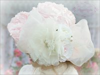 Pink Victorian Roses Hat