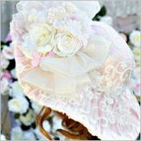 Pink Roses Romantic Hat