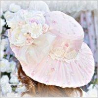 Pink Romance Victorian Hat