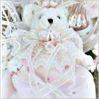 Romantic Pink Teddy Bear
