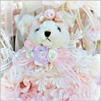 Rose Blush Romantic Teddy Bear