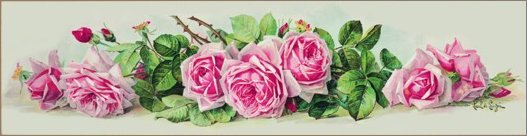 Houten Keuken La France Rose : Yard Long Roses Print by Paul de Longpre