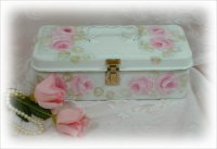 Shabby Roses Makeup Box