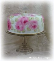 Elegant Cake Saver with Pedestal Stand