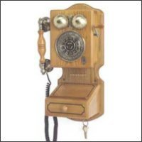 Antique Replica Telephone with Speaker Phone