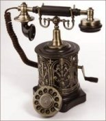 Antique Replica Telephone - Coffee Mill