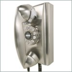 Classic Wall Telephone in Chrome