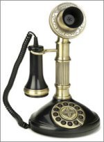 Antique Replica Telephone - Roman Column