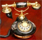 French Style Porcelain Telephone