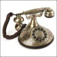 Vintage Style Cutie Telephone